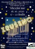 Muzejní noc - zrušeno